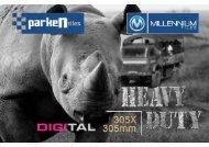 Millennium Tiles 305x305mm (12x12) HD Digital Parking Tiles