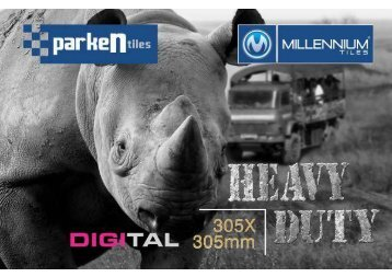 Millennium Tiles 305x305mm (12x12) HD Digital Parking Tiles