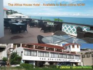 The Africa House Hotel - Available to Book online NOW!