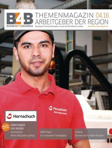 ARBEITGEBER DER REGION | B4B Themenmagazin 04.2016