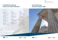 Jede Finanzierung braucht ihre eigene Statik Immobilienf - Berlin Hyp
