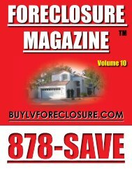Call or Visit our website! - Buy Las Vegas Foreclosures