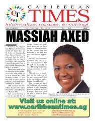 Caribbean Times 90th issue - Friday 15th April 2016
