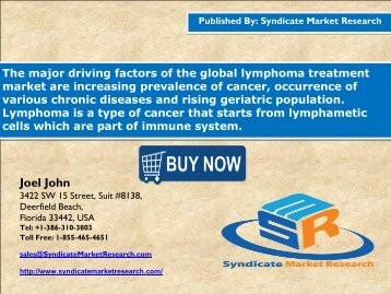 Lymphoma Treatment Market