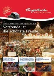 Engeloch Vorschau Winter 2016/17 und Tagesfahrten 2016