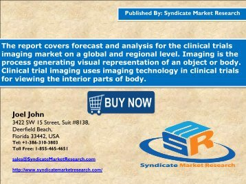Clinical Trials Imaging Market