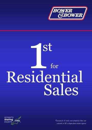 Sales Leaflet