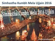 Simhastha Kumbh Mela Ujjain 2016 - HolidayKeys.co.uk