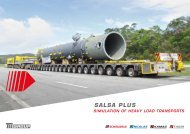 SALSA PLUS: Simulation of heavy load transporters