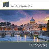 Italian buying guide 2016