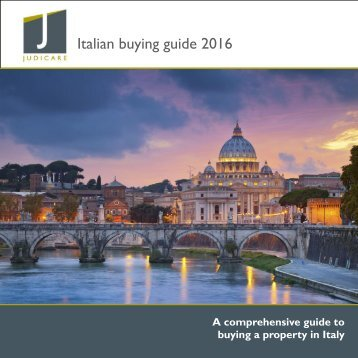 Italian buying guide 2016