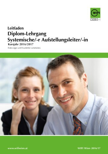 Leitfaden: Diplom-Lehrgang Systemische/-r Aufstellungsleiter/-in