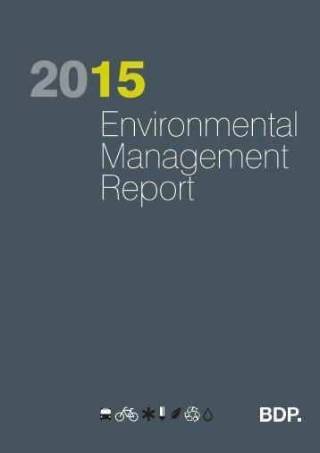 Environmental Management Report