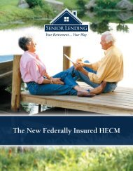 The New Federally Insured HECM