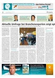i AKTUELLE TRENDS - Bersch & Fratscher GmbH