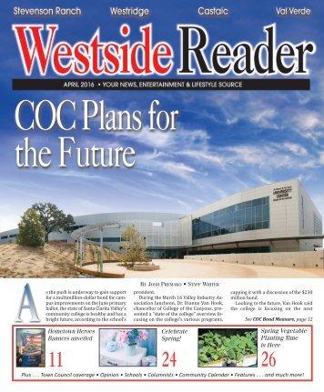 Westside Reader April 2016