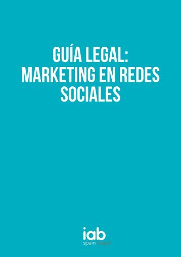 GUÍA LEGAL Marketing en Redes Sociales