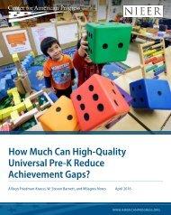 Achievement Gaps?
