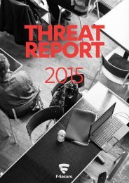 THREAT REPORT 2015
