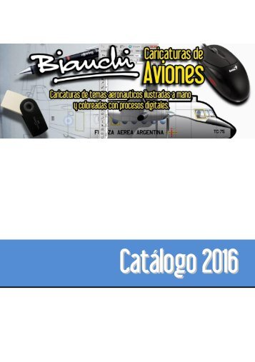 Catalogo 2016 Caricaturas