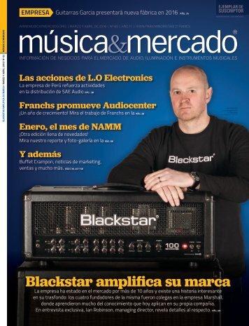 Blackstar amplifica su marca