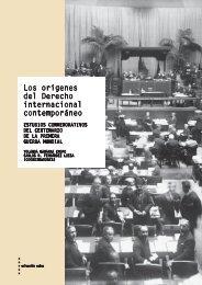 Los orígenes del Derecho internacional contemporáneo