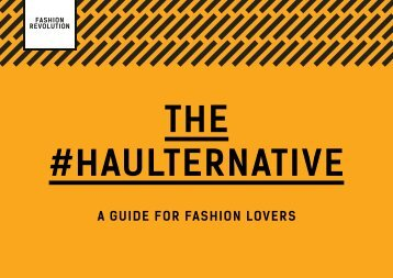 THE #HAULTERNATIVE