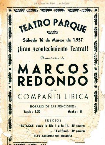 1957-03-16 Gran Compañía Lírica Marcos Redondo 0