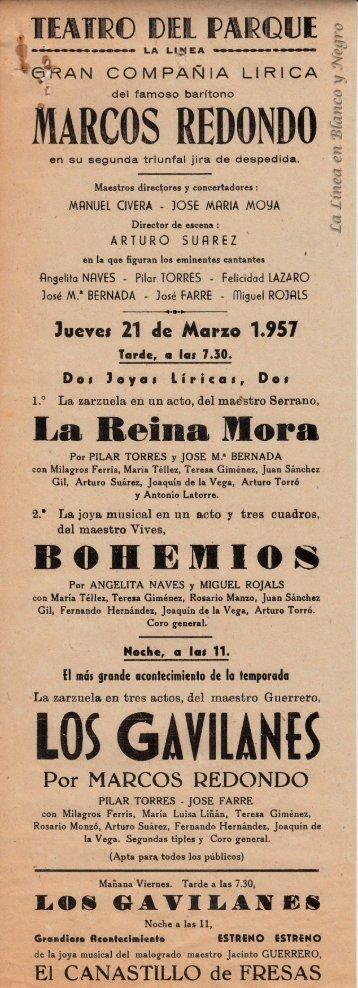 1957-03-21 Gran Compañía Lírica Marcos Redondo