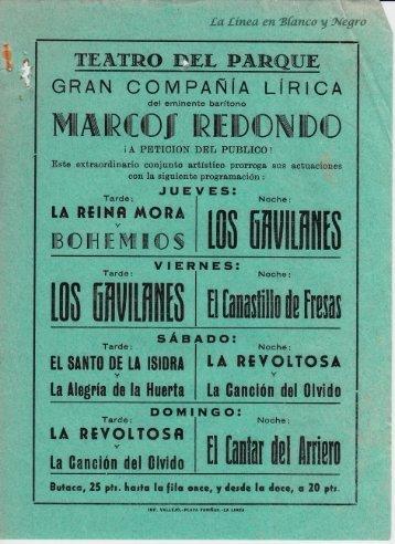 1957-03 Gran Compañía Lírica Marcos Redondo