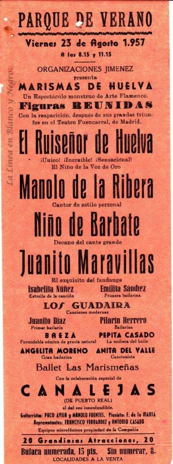 1957-08-23 Figuras Reunidas - Marismas de Huelva