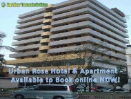 Urban Rose Hotel & Apartment - Available to Book online NOW!