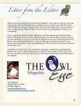 The Owl Eye Spring 2016 - Page 3