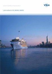 Jahresbericht 2014   2015 Verband für Schiffbau und Meerestechnik e V