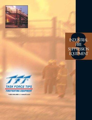 Download Industrial Fire Suppression Equipment Brochure