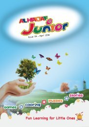 AlHadaf Junior - Issue 29 - April 2016