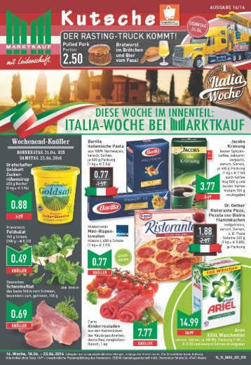 Marktkauf Kutsche KW16
