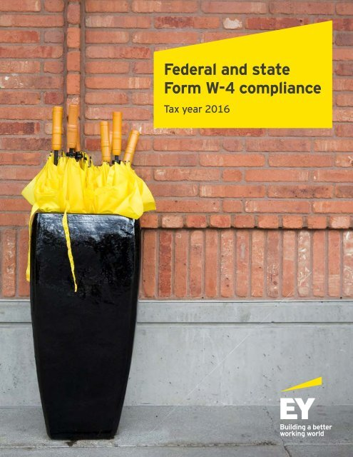 Federal and state Form W-4 compliance