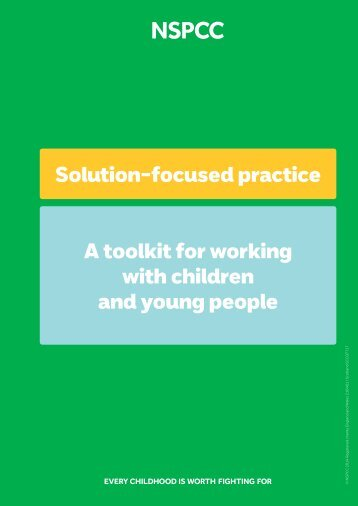 A toolkit for working with children and young people
