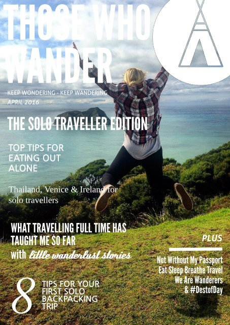Those Who Wander #3 - April 2016