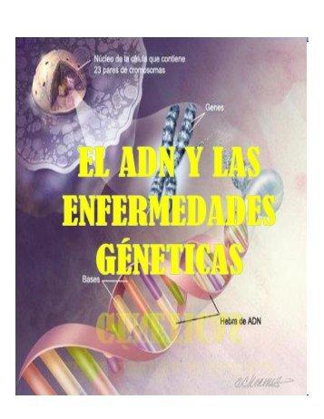 ADN y enfermedades genéticas