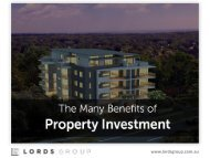 Lords Group - Property Development and Construction Manager Sydney