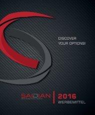 Saidian Werbetechnik - Werbemittel 2016