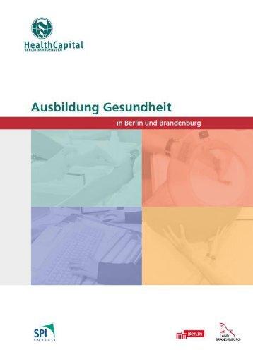 Ausbildung Gesundheit in Berlin und Brandenburg