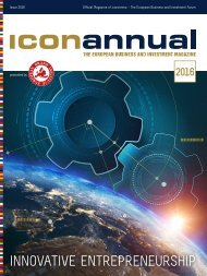 iconannual 2016 - The European Business and Invetsment Magazine