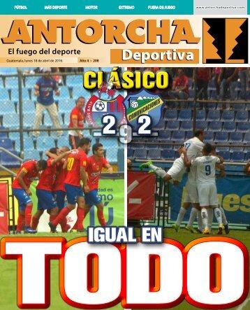 Antorcha Deportiva 208