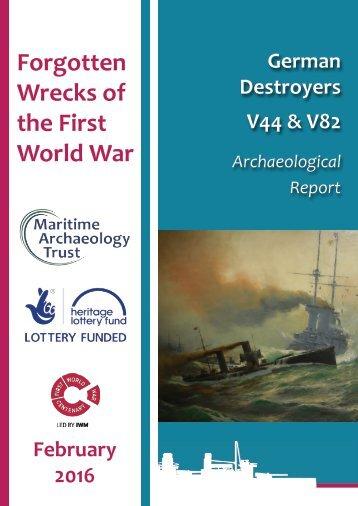 Forgotten Wrecks of the First World War
