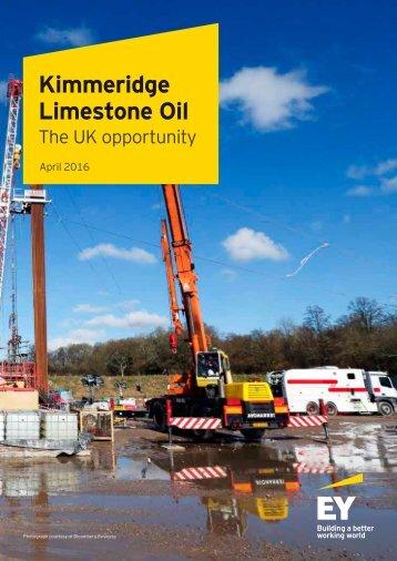 Kimmeridge Limestone Oil