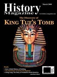 KING TUT'S TOMB - History Magazine