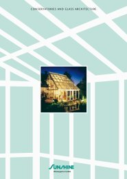Conservatories and glass architecture